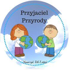 Nauczyć Ich Latać: Dzień Ziemi - odznaki do pobrania Earth Day, Origami, Family Guy, Education, School, Fictional Characters, Manualidades, Origami Paper, Onderwijs