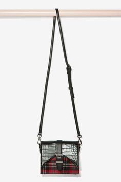 Nasty Gal x Nila Anthony Way Out West Plaid Crossbody Bag | Shop Accessories at Nasty Gal!