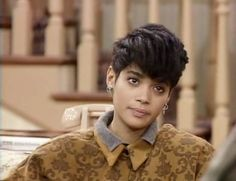 Collars on top of collars: | 23 Looks That Only Denise Huxtable Can PullOff