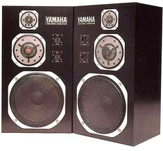 I've had a pair. Still have their little brothers. NS- So awesome. Hifi Amplifier, Hifi Speakers, Bookshelf Speakers, Loudspeaker, Audiophile, Florida Quotes, Yamaha Audio, Monitor, Microphone For Sale
