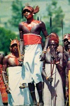 Maasai Warrior Dance Kenya