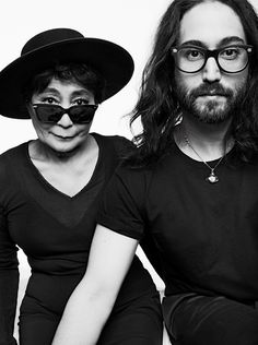 Sean Lennon ~ Born Sean Taro Ono Lennon October 9, 1975 (age 40) in New York City, New York, US. American musician and composer. He is the son of John Lennon and Yoko Ono. Sean Lennon was born his father's 35th birthday. He is of English and Irish descent on his father's side, and Japanese descent on his mother's side. Julian Lennon is his half-brother, and Kyoko Chan Cox is his half-sister. Elton John is his godfather. After Sean's birth, John became a house husband, caring for him