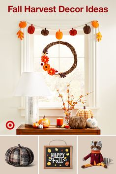 Welcome fall with decor for your home entryway & porch from harvest-inspired wreaths to DIY ideas. Welcome fall with decor for your home entryway & porch from harvest-inspired wreaths to DIY ideas. Fall Apartment Decor, Fall Room Decor, Home Decor, Thanksgiving Crafts, Thanksgiving Decorations, Fall Crafts, Halloween Decorations, Christmas Decorations, Harvest Decorations