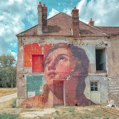 Read later Amazing Street Art, Photo Caption, Mount Rushmore, Abandoned, France, Fine Art, Architecture, World, Artist