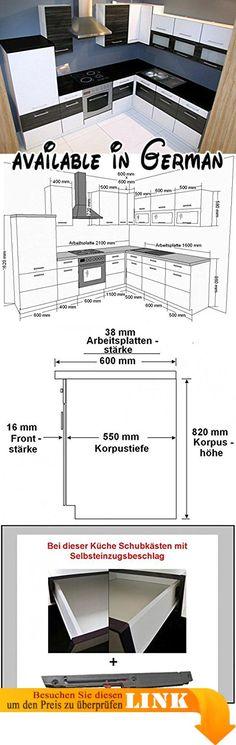 B06XHJMR9S  Putzschrank Koblenz 143 mit Aufsatz weiß 74x224x35 cm - küchenzeile 220 cm mit elektrogeräten