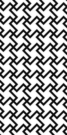 Black white seamless floor pattern