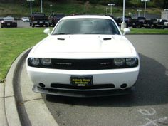 2013 Dodge Challenger SRT8Core SRT8 Core 2dr Coupe Coupe 2 Doors White for sale in Bremerton, WA Source: http://www.usedcarsgroup.com/used-dodge-challenger-for-sale