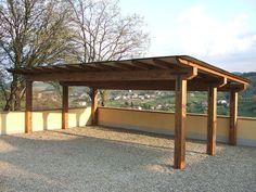 20 Idees De Construire Abris Voiture Carport Bois Pergola Bois Auvent Bois