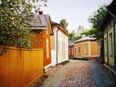 tripwolf travel photos from . See all your favorite vacation and holiday photos of landmarks, attractions and hotels in Rauma. See images 10 from . Finland Trip, Baltic Cruise, Wooden Architecture, Holiday Photos, Wooden Houses, Travel Photos, Beautiful Homes, The Neighbourhood, Outdoor Structures