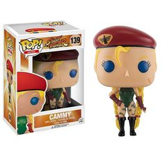 This is a Funko Street Fighter POP Cammy Vinyl Figure. Produced by the good folks over at Funko, it's great to see such a storied franchise come to life in POP Vinyl form. Cammy looks fantastic! Thank