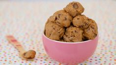 Learn how to easily make edible cookie dough for Chocolate Chip Cookie Dough Ice Cream, Frosting, Milkshakes & more!