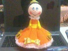 mecaart artesanatos em E.V.A:          minha princesa.