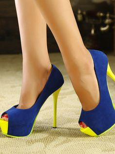 New Multicolor High Heels