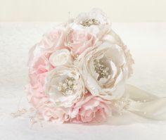 Bridal Bouquet Shabby Chic Wedding Flowers