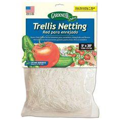 5 ft. x 30 ft. Dalen Products Nylon Trellis Netting-TP-30C - The Home Depot