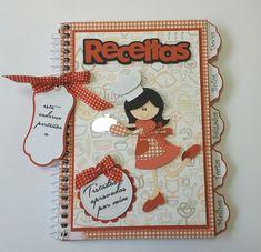Caderno de Receitas by Ateli/ê do Vlady