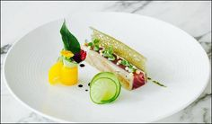 Grégoire Berger, executive chef at Restaurant Ossiano, Atlantis, The Palm Dubai Food Design, Gourmet Recipes, Cooking Recipes, Michelin Star Food, Modernist Cuisine, Chefs, Food Decoration, Food Crafts, Molecular Gastronomy