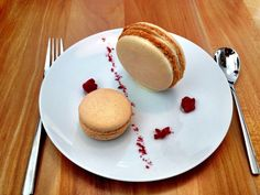 Best macaroon I ever had is at Cerulean, The Alexander Hotel in Indy. White chocolate vanilla heaven!!! (c) GTH & Nathan DePetris