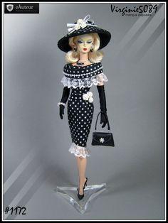 tenue outfit + accessoires pour barbie silkstone vintage integrity toys #1172