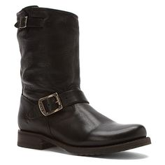 Frye Veronica Short | Women's - Black Soft Vintage Leather