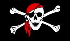 Pirate, Flag, Bones, Skull, Danger
