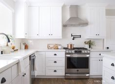 Before + After - Country Club Kitchen - Sundling Studio #interiordesign #kitchen #beforeandafter #farmhouse