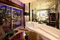 The Cigar Room, Romeo Hotel, Naples Naples Italy, Italy Italy, Cigar Room, Hotel Lobby, Pompeii, Hotels And Resorts, Modern Design, Luxury, Building