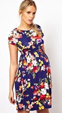 vestido gravida