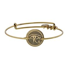 Eye of Horus Bracelet - Alex and Ani. Mine dangles which I prefer to match the others.