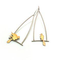 Bird Dangle Earrings