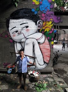 Street art - Seth Globepainter