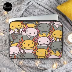 """for MacBook 12"""", MacBook Air/Pro/Retina 13"""", MacBook Air/Retina 15""""  - Polyester cover and foam padding protects from scratches and minor impacts - Black edging, black zip, black plush padded inside - Easy clean with a damp cloth  🔸🏜🔸🏜🔸🏜🔸  #axolotl #axolotllove #illustrationlove #cuteillustration #laptopsleeve #laptopcase  #macbookcase #casemacbook #macbookpro #onlineshopping #weperceive #weperceivestyle #pattern #onlinefashion #onlineshopcase #accessory #cooldesign #designoftheday"""