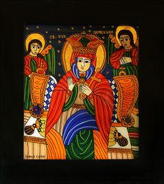 Laura James, Orthodox Icons, Sacred Art, Christian Art, Religious Art, Ikon, Postcards, Folk Art, Religion