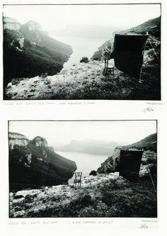 Ettore Sottsass, Metafore. Vuoi guardare il muro… o vuoi guardare la valle?, 1973   Artuner