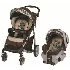 """Graco Stylus Travel System with SnugRide 30 Infant Car Seat - Montego - Ships after Dec 26 - Graco - Babies""""R""""Us"""