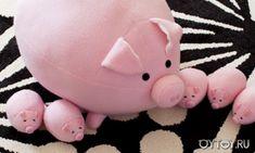 DIY Pig Softie - FREE Pattern