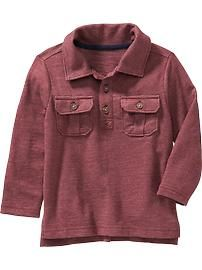 Two-Pocket Polos for Baby