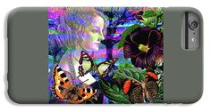 Solarlife IPhone 7 Plus Case featuring the digital art Solar Daydreamer by Joseph Mosley