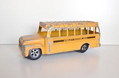 Hubley Toy School Bus by Dentwood on Etsy, $20.00