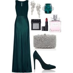 White House Correspondents Dinner by ravenclaw-phoenix on Polyvore featuring Ghost, Sondra Roberts, NARS Cosmetics and Christian Dior