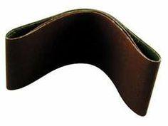 10 Pieces 100 Grit Abrasive Belt for Power Sander.
