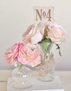 Rustic Wood Table Numbers Vintage Inspired Wedding by Morgann Hill Designs Vintage Table Numbers, Wood Table Numbers, Quinceanera Centerpieces, Wedding Centerpieces, Centrepieces, Wooden Tables, Love And Marriage, Wedding Designs, Wedding Ideas
