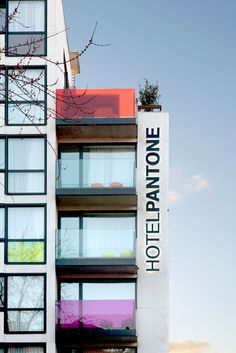 Pantone Hotel is the most colorful hotel in Brussels, Belgium…