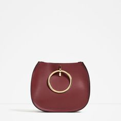 ZARA - COLLECTION SS16 - TOTE WITH METALLIC STRAPS