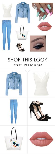 """""""kelly"""" by stefania-bracoloni on Polyvore featuring moda, Acne Studios, Roland Mouret, New Look, STELLA McCARTNEY, Karl Lagerfeld e Lime Crime"""