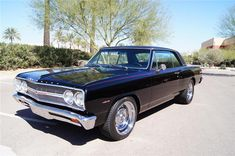 1965 CHEVROLET CHEVELLE SS CUSTOM COUPE - Front 3/4 - 130622