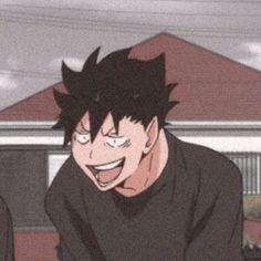 Kuroo Haikyuu, Haikyuu Manga, Kuroo Tetsurou, Haikyuu Funny, Haikyuu Fanart, Me Anime, Anime Guys, Manga Anime, Anime Meme Face