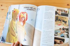 I really really really like this Week in the Life book. Tons of great layout ideas!