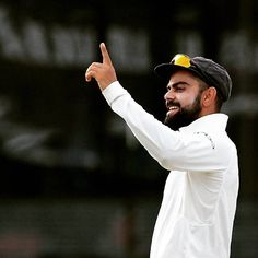 "62k Likes, 48 Comments - ICC (@icc) on Instagram: ""One happy captain! Virat Kohli celebrates a wicket as India dominate Day 2 of the 2nd Test #cricket…"""