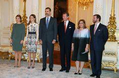 King Felipe VI and Queen Letizia Visit Luxembourg